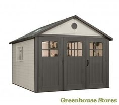 Lifetime 11 x 21 ft. Outdoor Storage Shed with Tri Fold Doors - 60026