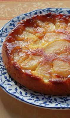 Un gâteau aux pommes très moelleux pour le dessert ou le goûter.