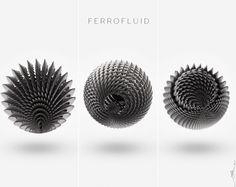Ferrofluid patterns by Anik Biswas