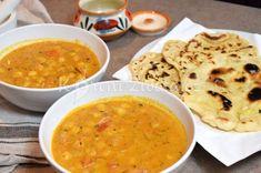 Indické cizrnové kari s voňavým kořením a kosovým mlékem Cheeseburger Chowder, Soup, Ethnic Recipes, Indie, Soups, India, Chowder