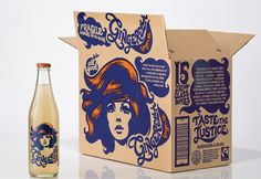Gingerella packaging designed by Special Group.