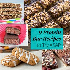 9 Protein Bar Recipes to Try ASAP