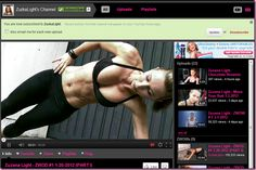 YouTube fitness video recommendations from The Fitnessista