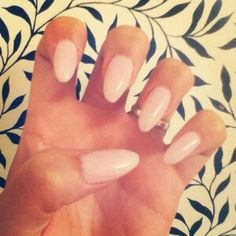 Natural stiletto nail designs