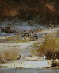 Early Snow by Tibor Nagy Oil ~ 10 x 8