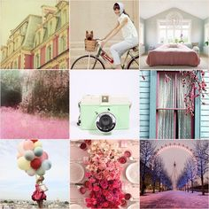 This Home Sweet Home: Pretty pastel inspiration from Pinspire.