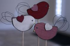 I really am obsessed with birds and owls (yes, I know owls are birds). I hope you like what I came up with for Valentine's Crafts . If you l...