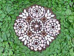 Land art mandala from Hungary by tamas kanya Nature Journal, Shape And Form, Land Art, Stone Art, Hungary, Shapes, Deviantart, Sculpture, Outdoor Decor