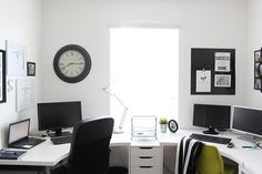 Home Office & Craft Room on a Budget