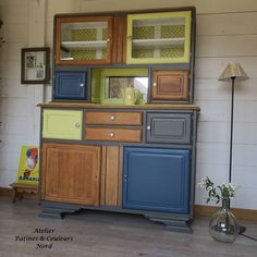 Patines & Couleurs Buffets, Cabinet, Storage, Furniture, Home Decor, Furniture Makeover, Dining Table, Clothes Stand, Buffet