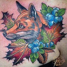 Ebony Mellowship started tattooing in 2010 in her home land, WA. She mostly likes to do colourful, bright & bold neotraditional tattoos featuring lady faces and anima...
