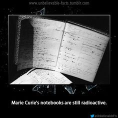 Marie curie and Notebooks on Pinterest