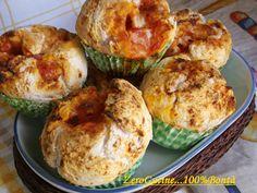Muffin+Pizza+Senza+Glutine