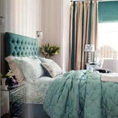 Duck egg bedroom