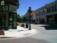 Trinidad, Colorado...yes, remember those brick streets!!!