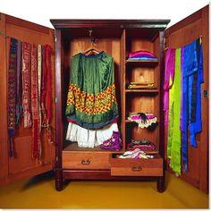Frida Kahlo's wardrobe (casa azul)