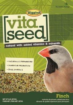 BIRD - FOOD: SEEDS & PELLETS - VITA SEED FINCH - 2LB - HIGGINS PET FOOD - UPC: 46706210268 - DEPT: BIRD PRODUCTS