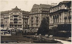 Timisoara - Teatrul Comunal 1930's Bucharest Romania, Dan, Street View, Spaces