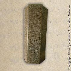 A stone prism containing Sennacherib's boast