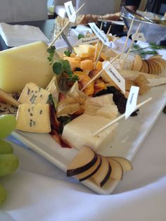 Assorted Cheese Tray Buffet