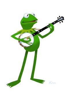 Kermit by Kirk Millett, via Flickr