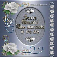 beautiful, diamonds, quotes, song lyrics, diamonds in the sky, glitter graphics, animated quotes