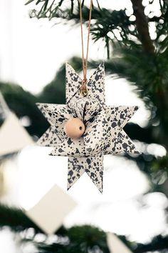 diy ornament mit ösen und lederband