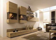 Meuble De Salon Living | Ch�ne Nature via decofinder.com