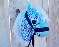 Palillo caballo Hobby Horse caballo de caballo por TheRoundyRoundup
