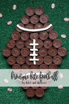 brownie bite footbal