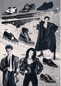 Der schwarze Modeguide der 80er - Zwischen Bogey's Katalog und der Realität