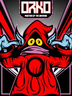 Orko from Masters of the Universe by Salvador Anguiano, via Behance