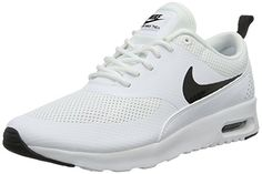 Nike Air Max Thea 599409 Damen Laufschuhe, Elfenbein (White/black), 40 EU http://amzn.to/2pZDfjZ