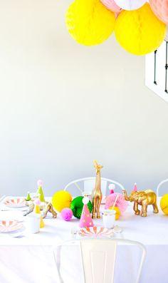 "| Kids birthday ideas: A ""Glanimal"" 4th Birthday | The Sweet Lulu Blog |"