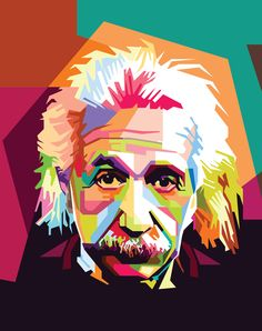 It has been said that theoretical physicist Albert Einstein was a mystery, even to himself. Here are 25 of the most intriguing Albert Einstein Quotes. Portraits Pop Art, Portrait Art, Arte Pop, Art Sur Toile, Albert Einstein Quotes, Reproduction, Caricature, Wall Art, Wall Decor