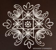 Indian Rangoli Designs, Simple Rangoli Designs Images, Rangoli Designs Latest, Rangoli Border Designs, Latest Rangoli, Colorful Rangoli Designs, Beautiful Rangoli Designs, Simple Designs, Simple Rangoli Kolam