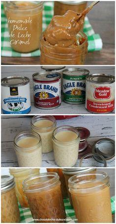 Crock Pot Dulce de Leche-make your own dulce de leche in the crockpot.