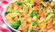 Broccoli-ovenschotel Met Kip, Champignons En Krieltjes recept | Smulweb.nl