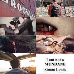 Simon Lewis aesthetic