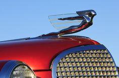 1937 Cadillac V8 Hood Ornament - Jill Reger - Photographic prints for sale