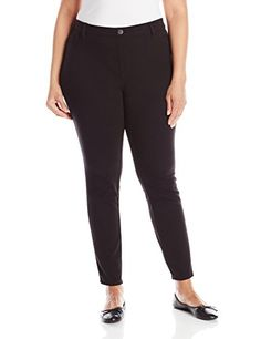 >> Stylist Lee Ladies's Plus-Measurement Straightforward Match Jade Legging, Black, 2X