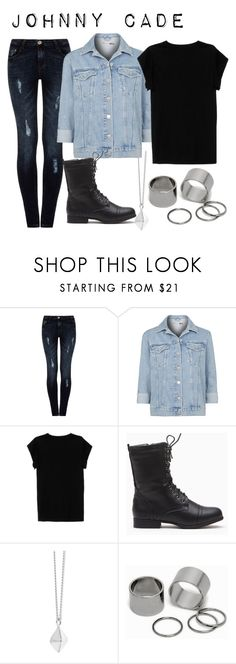 """What I Imagine Johnny Cade wore"" by bubbly-bookworm ❤ liked on Polyvore featuring Quiz, Topshop, Isabel Marant, Dinny Hall and Pieces"
