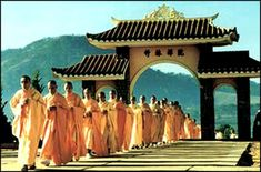 The predominant form of Buddhism in Vietnam is a combination of Pure Land and Zen