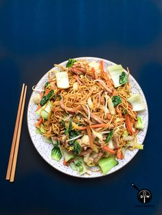 Use your noodle -- it's the key to a quick and easy Pork Chow Mein.