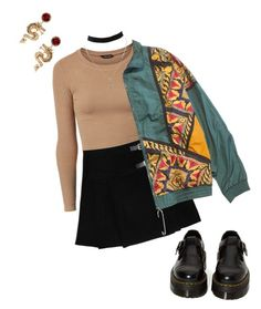 """""""This is love"""" by martabiurrungarrido ❤ liked on Polyvore featuring ASOS, Dr. Martens and Charlotte Russe"""