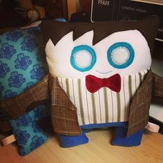 Doctor Who  Doctor 11 plush  Made to Order by Handmade3D on Etsy, $35.00
