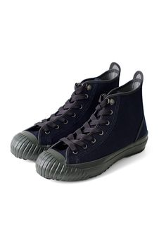 Nigel Cabourn for Women's - ARMY TRAINERS HIGH TOP - NAVY