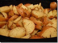 Running in a Skirt – Crock Pot Rosemary Lemon Red Potatoes
