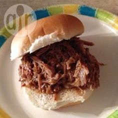 Pulled Pork van de barbecue