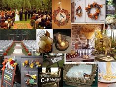 Green, Red, Orange, Brown, Wedding, Gold, Inspiration